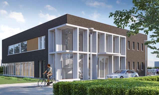 18185_Van Helden; nieuwbouw praktijk Westsingel te Horst